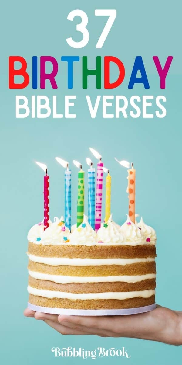 Birthday Verses From the Bible - Pinterest Image