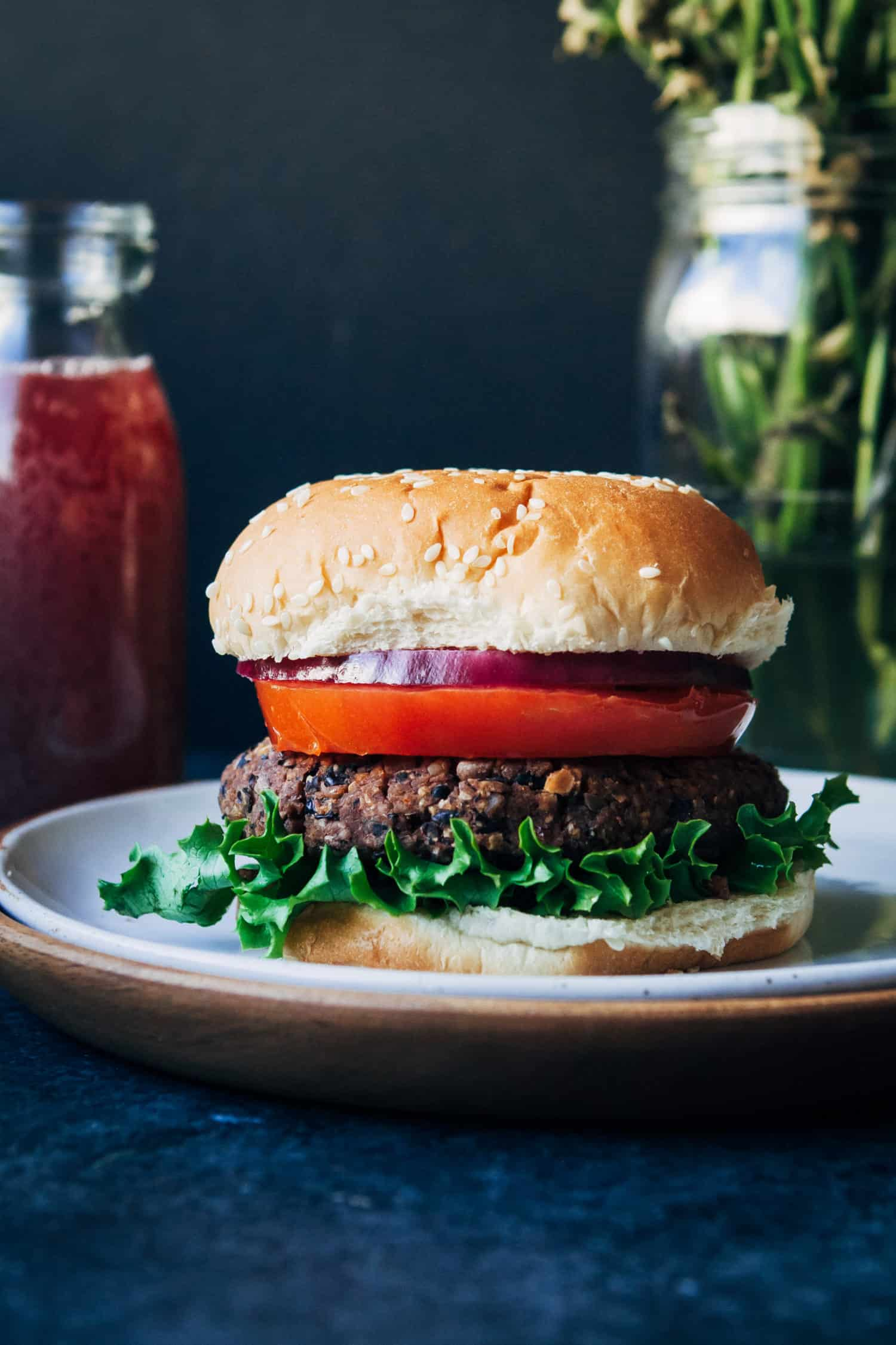 daniel fast burger