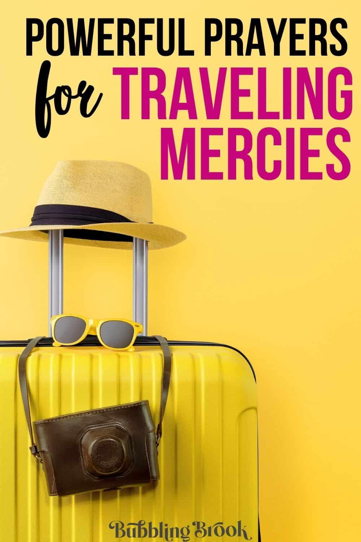 traveling mercies prayers - pin for pinterest
