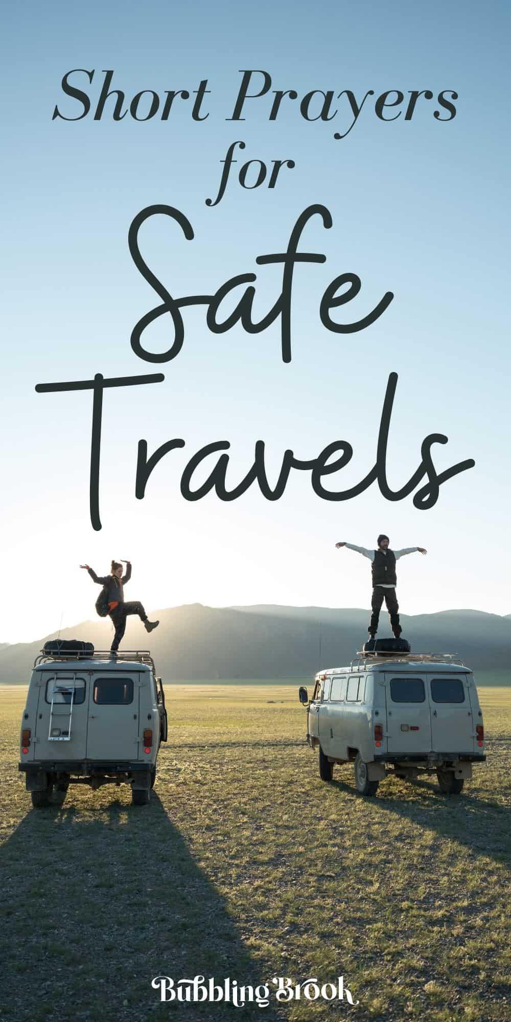 safe travels prayers